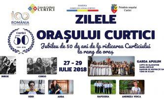 Zilele orașului Curtici 27 – 29.07.2018